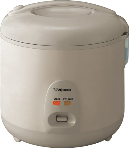 Zojirushi NSRNC18NL Automatic Rice Cooker and Warmer 10-Cup / 1.8-Liter, Champagne Gold by Zojirushi