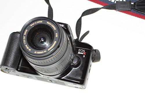 Black Canon EOS REBEL X S 35mm FILM SLR Camera Body & Lens (Canon Film Body)