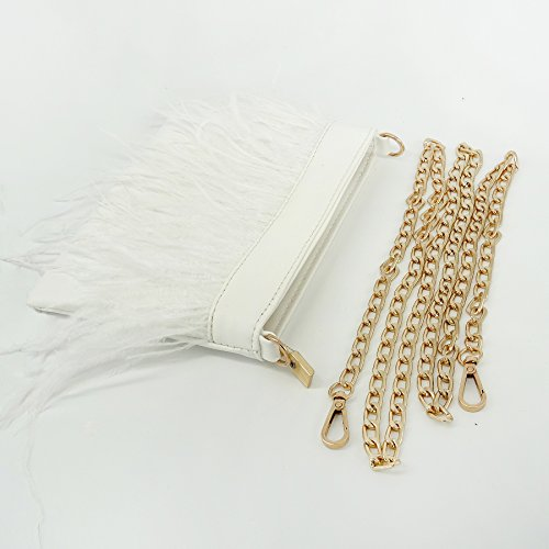 TOOKY pour femme Pochette Blanc Blanc TOOKY TOOKY Pochette femme pour XFXfx7Zq