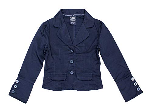 French Toast Girls Classic School Uniform Blazer, 7 Navy