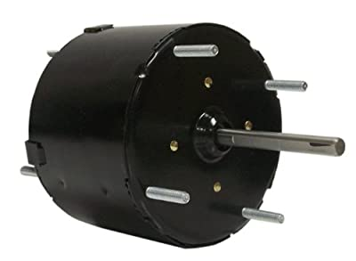 Fasco D122 3.3-Inch General Purpose Motor, 1/80, 115 Volts, 1500 RPM, 1 Speed.6 Amps, Totally Enclosed, CWSE Rotation, Sleeve Bearing