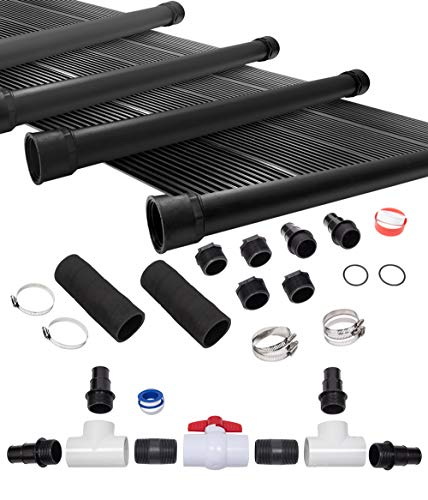 (SunQuest 6-2'X20 Solar Swimming Pool Heater System with Diverter Kit)