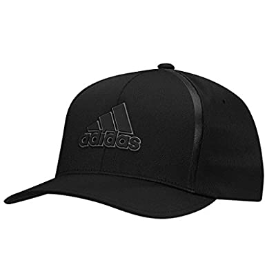Adidas 2017 Tour Delta Flex-Fit Textured Structured Hat Mens Stretch Golf Cap from Adidas