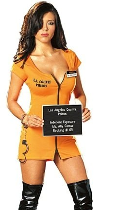 Ally Catraz Adult Costume - Medium -