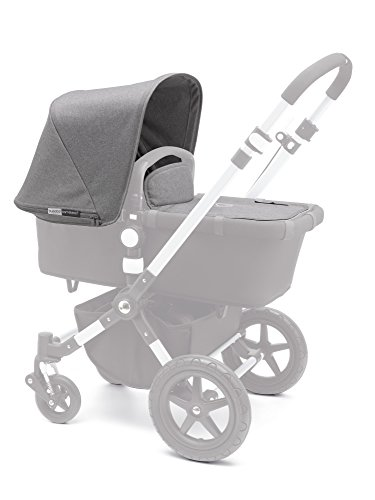 Bugaboo Cameleon³ Tailored Fabric Set, Grey Melange by Bugaboo