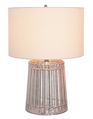 Marianas Outdoor Table Lamp - Mariana Home 125003 Column Mercury Glass Table Lamp