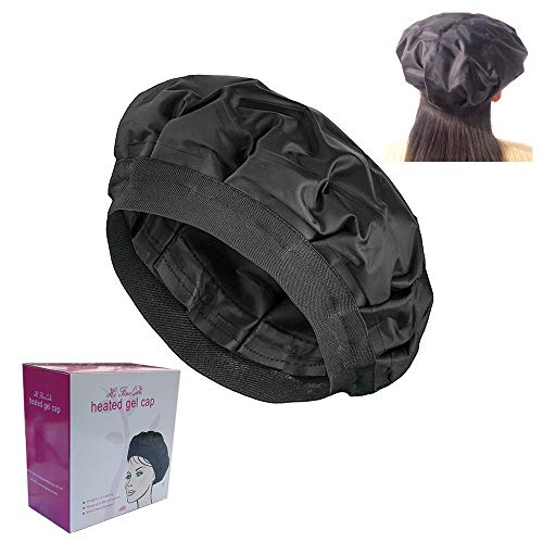 Thermal Conditioning Treatment - Deep Conditioning Hair Cap for Hair Heat Cap, Thermal Spa Hair Gel Cap for Oil or Conditioner for Long Thick Hair