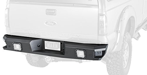 WARN 96445 Ascent Rear Bumper 3500-2014-2016 Dodge Ram 2500