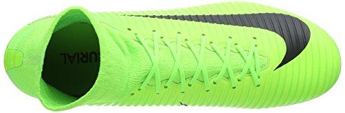 Nike Mercurial Veloce III DF AG-Pro, Scarpe da Calcio Uomo Verde (Electric Green/Black/Flash Lime/White)