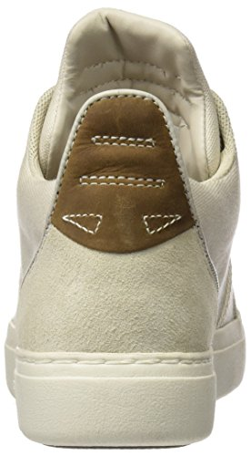 Timberland CA1FN8, Zapatillas Altas Mujer Beige (Rainy Day Washed Canvas)