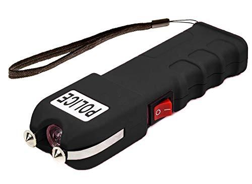 POLICE 928 - 58 Billion Heavy Duty Stun Gun - Rechargeable with LED Flashlight (Best Defense Weapon Besides A Gun)
