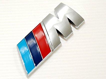 Badge Tri Color For All Bmw Rear Emblem Car Decal Logo Sticker