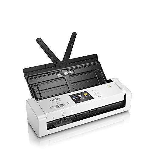 Brother ADS1700WUN1 Kompakter Dokumentenscanner Weiß/Schwarz