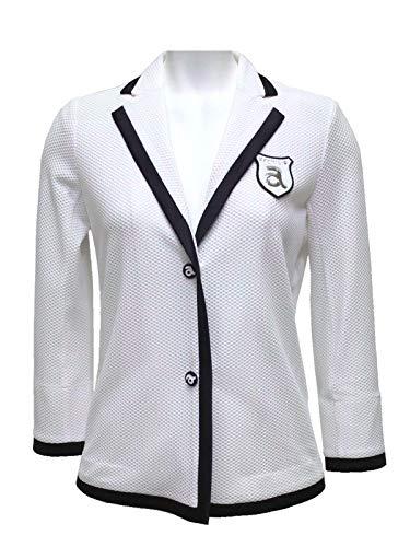 アルチビオ/archivio (春夏モデル!)総メッシュジャケット(レディース) 38(M) 090(ホワイト) B07T9SHRM8