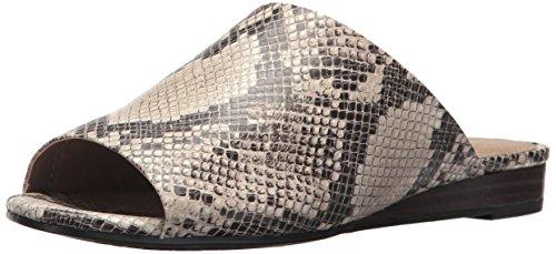 - Aerosoles Women's BITMAP Slide Sandal, Taupe Snake, 5.5 M US