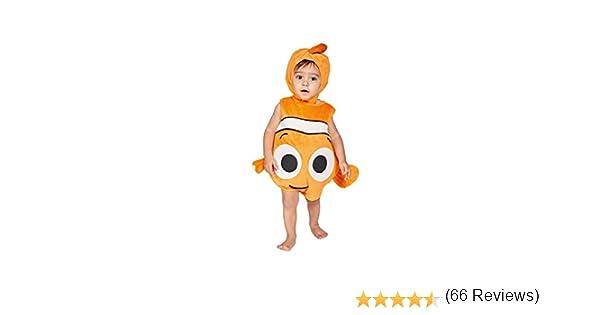 amscan Disfraz para niños de Nemo, Terciopelo con Capucha: Amazon ...