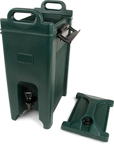 Carlisle XT500008 Cateraide Insulated Beverage Server Dispenser, 5 Gallon, Forest Green by Carlisle (Image #5)