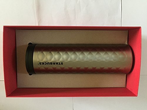 Starbucks Stainless Steel Hammered Tumbler Silver 16 Fl