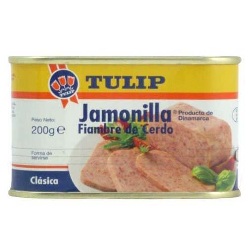 Tulip Luncheon Meat - JAMONILLA TULIP - 7 oz (Count of 4)