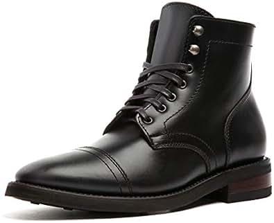 Thursday Boot Company Captain Men's Lace-up Boot, Black, 6 M US