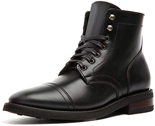 Gloves Leather Ranger - Thursday Boot Company Captain Men's Lace-up Boot, Black, 8.5 M US