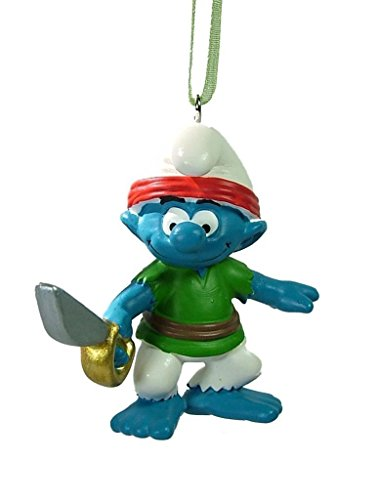 New Pirate Smurf Swashbuckler Sea Ocean Boat Piracy Christmas Tree Ornament (Smurf Ornament Christmas)