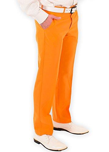 Festified Men's Classic Party Pants In Orange (32) by Festified (Image #2)