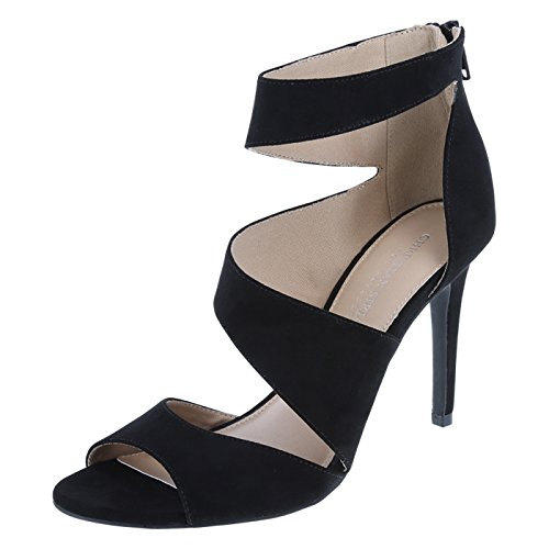 baa02065420 Christian Siriano for Payless Women s Black Suede Lily Asymmetrical Pump  9.5 Regular - Buy Online in KSA. Apparel products in Saudi Arabia.