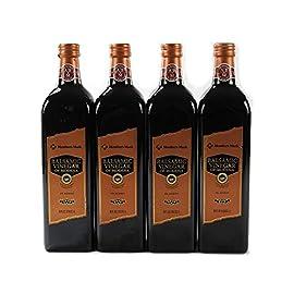 Member's Mark Balsamic Vinegar of Modena Bottle, (34 oz. 1L) - Pack of 4 120 Member's Mark Balsamic Vinegar of Modena Bottle Pack of 4 - Glass Bottles (Expiration 2020) Net Weight Per Bottle: 34 Fluid Ounces