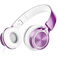 AILIHEN MS300 Wired Headphones, Stereo Foldable Headset...