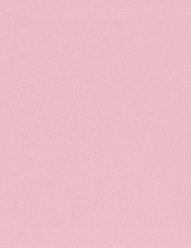 8 1/2 x 11 Cardstock - Pastel Pink (250 Qty.) B007BS5DY2