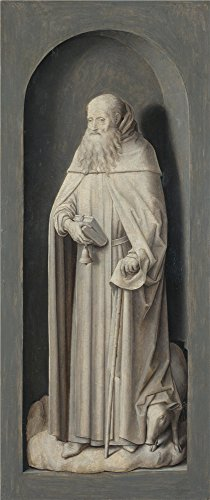 [Oil Painting 'Hans Memling Saint John The Evangelist', 18 x 43 inch / 46 x 109 cm , on High Definition HD canvas prints is for Gifts And Bar, Hallway And Study Room Decoration, easy] (Pictures Of Jazz Dance Costumes)