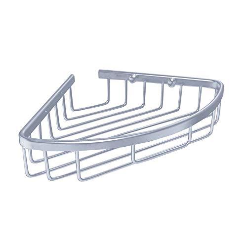 Storage Rack Space Aluminum Single Layer Basket Basket Triangle Basket Corner Bathroom Bathroom Rack Corner Frame Tripod Wholesale (Size : Lvsi) by Sevenpring (Image #3)