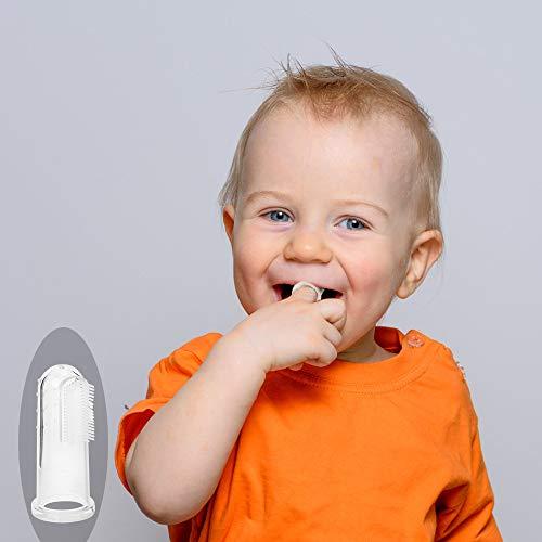 Alimentador de Fruta Para bebé, Pinza de Chupete, Babero Para BeBé, Cucharas de Alimentación para bebés, Cepillo de Dedo para bebé, Funda de Silicona ...