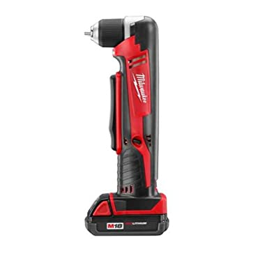 Milwaukee 2615-21CT M18 18V Cordless Compact LITHIUM-ION 3/8 Right Angle Drill kit