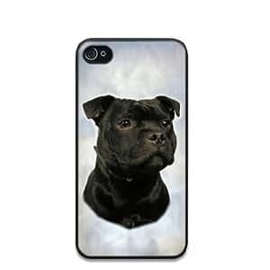 Staffordshire Bull Terrier/Staffie Dog Hard Case Back Cover for i-Phone 4/4S