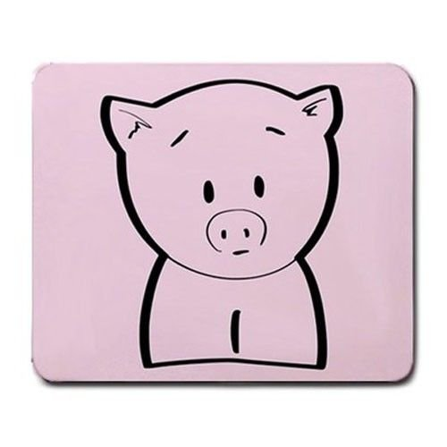 Cute Pig Line Art Mouse Pad MP969 (Art Line Pig)