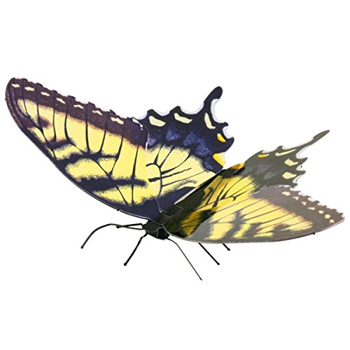 (Fascinations Metal Earth Tiger Swallowtail Butterfly 3D Metal Model Kit)