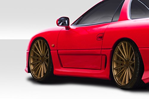 Duraflex Replacement for 1991-1999 Mitsubishi 3000GT Dodge Stealth Vader Side Skirts - 2 -