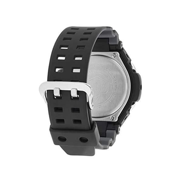 Casio Reloj Analógico-Digital para Hombre de Cuarzo con Correa en Resina GA-1100-1A1ER 3