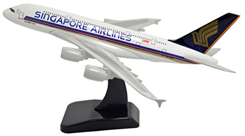Tang-Dynasty(TM 1:400 Standard Edition Air Bus A380 Singapore Airlines Metal Airplane Model Plane Toy Plane - Airlines International