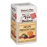 Cheap Natures Plus Say Yes to Beans Enzyme Complex – 60 Vegetarian Capsules – Natural Food Enzyme Supplement for Gas Prevention, Digestive Aid – Gluten Free – 60 Servings