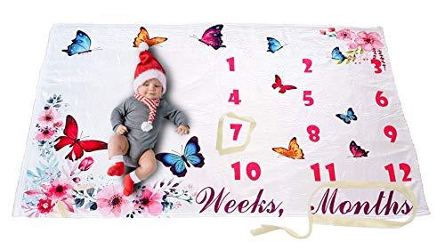 Milestone Blanket Baby Blankets Large 60