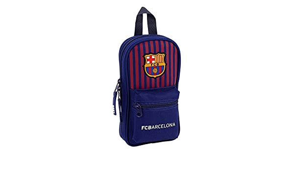 Amazon.com: FC Barcelona 2018 Make-Up Pouch, 23 cm, Blue ...