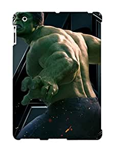 Design High Impact Dirt/shock Proof Case Cover For Ipad 2/3/4 (the Hulk )
