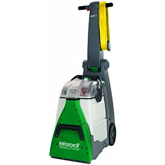 Commercial Deep Cleaner, Carpet, 25  Cord, Gray/Green
