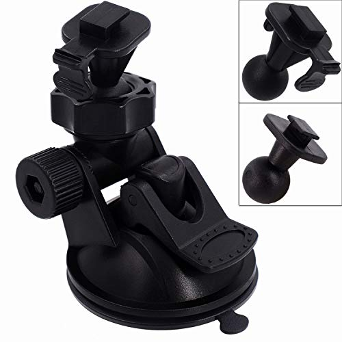 - iSaddle CH02A YI Dash Camera Mount Holder Vehicle Video Recorder/Car DVR Camera Windshield & Dashboard Suction Mount Holder