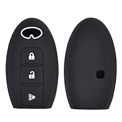 3 Button Silicone Car Key Case For Infiniti QX50 QX60 EX35 FX35 FX45 FX50 EX37 2014-2016 Cover Keyless Remote Fob Shell Protector: Automotive