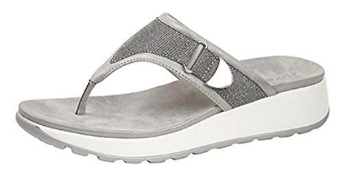 Boulevard - Sandalias de vestir de Material Sintético para mujer gris