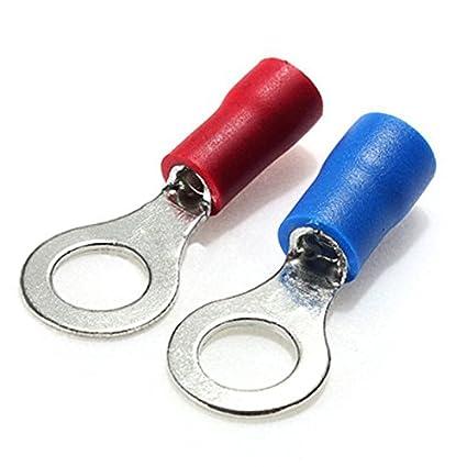 Conjunto de terminales de crimpar - SODIAL(R)360pcs conjunto de spade de conector de terminales de crimpar de alambre electrico de surtido aislado: ...